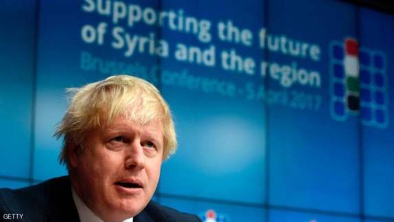 وزير خارجه بريطانيا: روسیه باید دست از حمایت بشار اسد بردارد