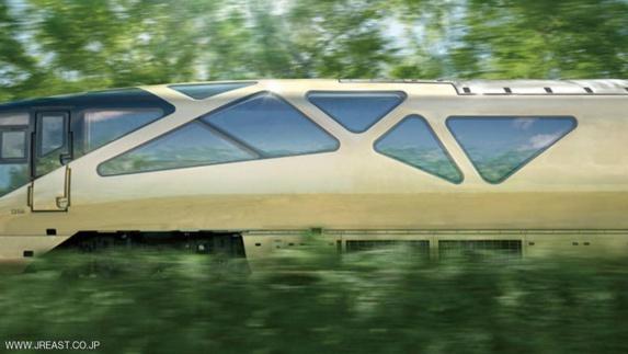 گزارش تصویری لوکس ترین قطار مسافربری جهان در ژاپن