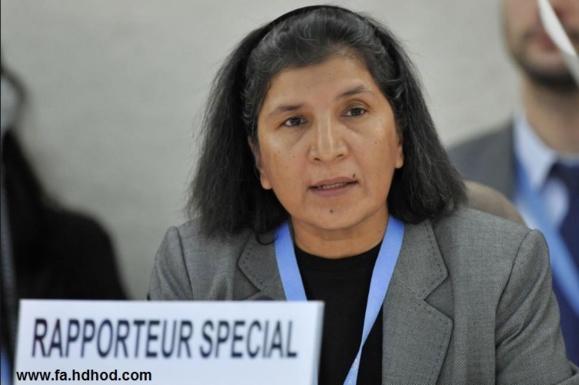 گزارشگر ویژه سازمان ملل درباره خشونت علیه زنان، از شکنجه جنسی زندانیان سیاسی زن در ایران سخن می گوید