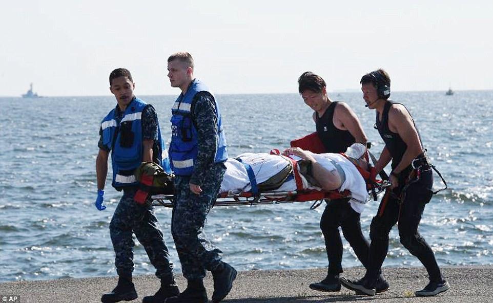 کشف اجساد ملوانان آمریکایی ناپدید شده در سواحل ژاپن