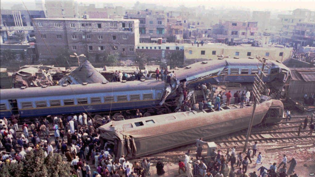 افزایش شمار قربانیان حادثه برخورد دو قطار در نزدیکی اسکندریه