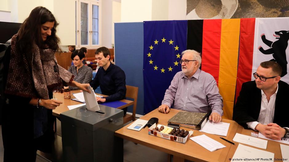 آغاز انتخابات پارلمانی آلمان