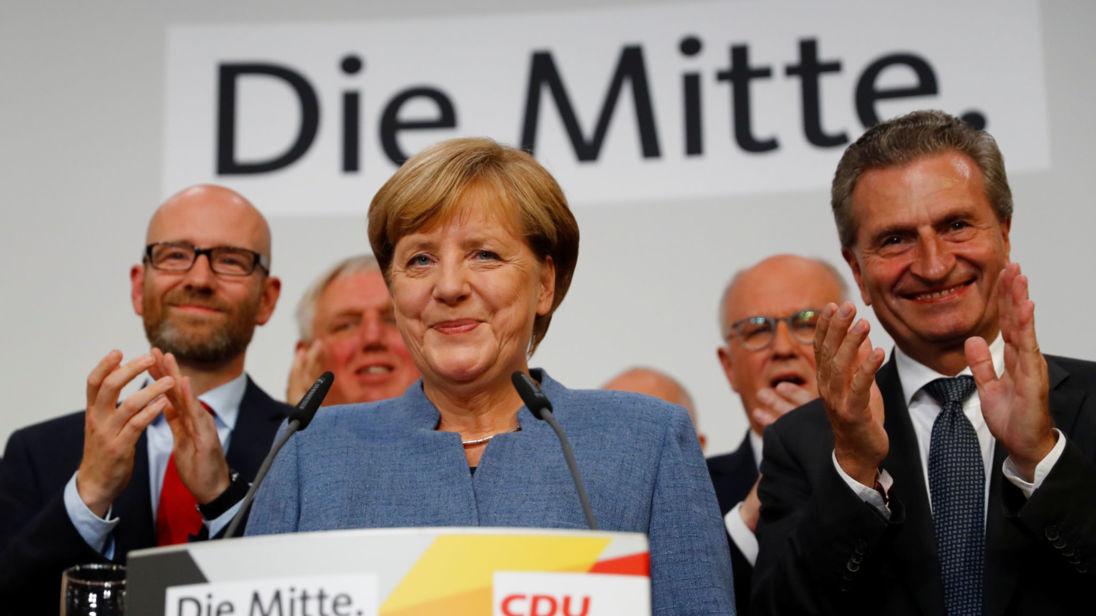 پیروزی حزب محافظه کار به رهبری آنگلا مرکل در انتخابات پارلمانی آلمان