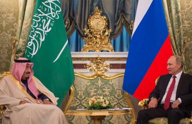 اعطای دکترای افتخاری به ملک سلمان در مسکو + تصویر