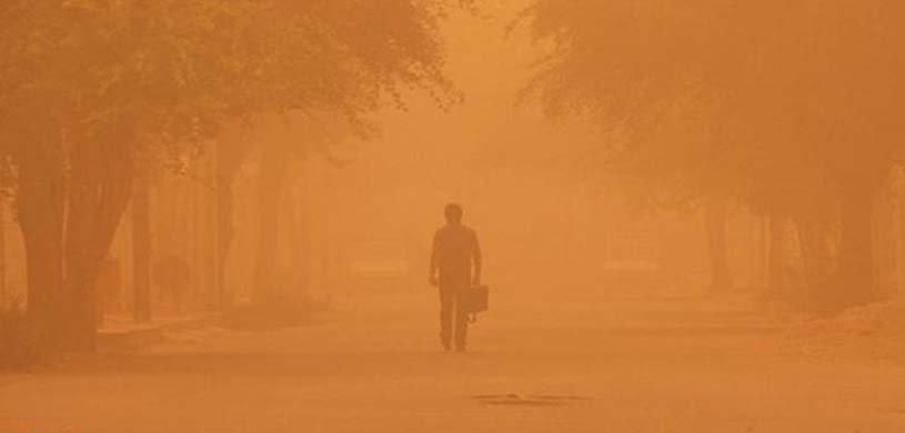 آلودگی هوا در خوزستان و تعطیلی مدارس ۹شهر