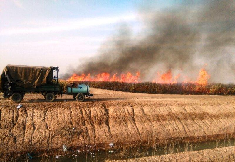 آلودگی هوا، آب وخاک/بحران نمک کارون وهورالعظیم را تهدید میکند