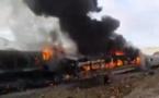 بیش ۱۴۸ مجروح و کشته در حادثه برخورد ۲ قطاردرسمنان