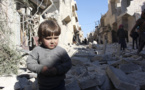 بمباران حلب توسط جنگنده های روسیه ورژیم اسد