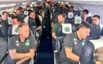 سقوط هواپیمای حامل بازیکنان برزیلی در کلمبیا