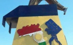 """رونمایی مجسمه """"کولبر"""" در اقلیم کوردستان"""