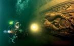 کشف هزاران قطعه تاریخی درون یک کشتی در رودخانهای در چین