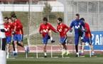 ویدیویی از  تمرینات و تست پزشکی امروز تیم ملی اسپانیا