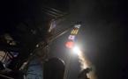 بمباران کردن پایگاه شعیرات با موشک های کروز توهاک ارتش آمریکا