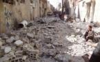 قتلعام اهالی شهر مسکنه در شرق حلب توسط مزدوران وابسته به رژیم ایران