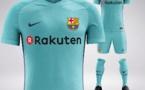 ویدیوی رونمایی از پیراهن دوم بارسلونا برای فصل 2018-2017