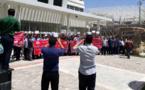 ویدیوی تجمع اعتراضی غارتشدگان در تهران با شعار