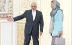 واکنش به سفر موگرینی به ایران برای شرکت در مراسم تحلیف حسن روحانی