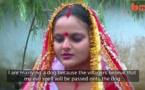 ازدواج دختر 18 ساله هندی با یک توله سگ ولگرد+فیلم
