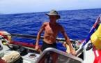 مرد ۵۳ ساله با قایق پارویی از آمریکا به استرالیا رفت