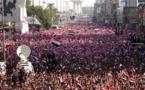 تظاهرات هزاران عراقی در بغداد علیه ایران
