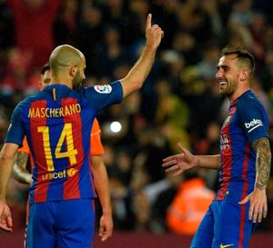 ویدیوی اولین گل رسمی ماسکرانو برای بارسلونا