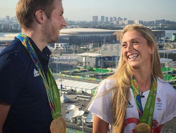 زن و شوهری که هر دو در ریو طلا گرفتند