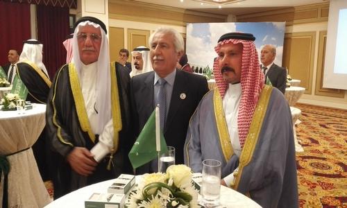 مشارکت هیأتی از حزب دمکرات کوردستان در مراسم جشن ملی عربستان سعودی