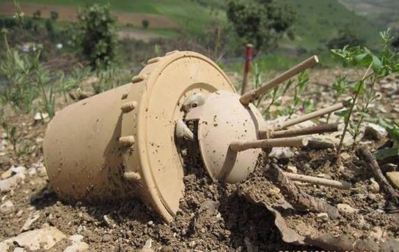 انفجار مین و مجروح شدن دو شهروند در استان کردستان