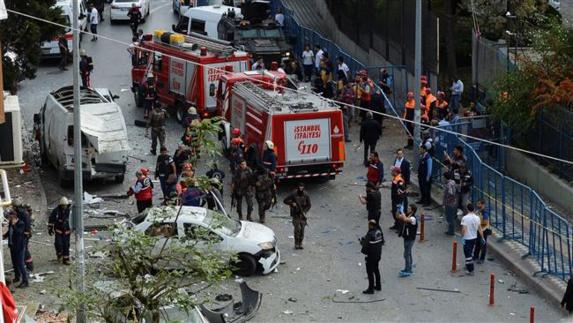 حمله راکتي به استان آنتالياي ترکيه
