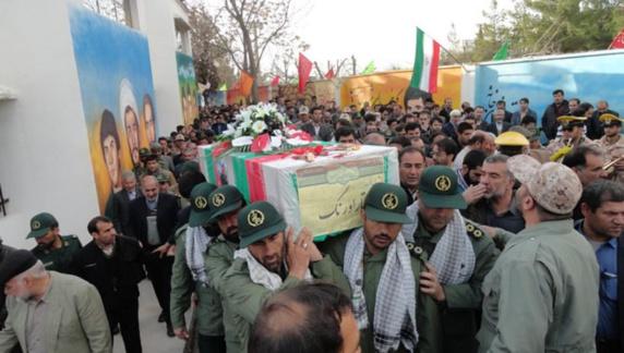 کشته شدن یک عضوسپاه ایران درسوریه
