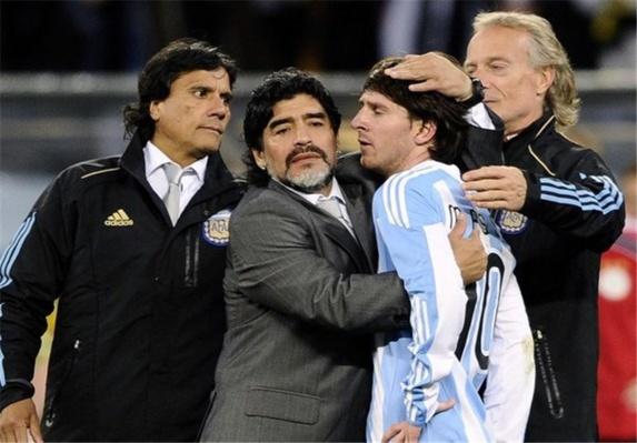 مارادونا/ممکن است که آرژانتین به جام جهانی صعود نکند