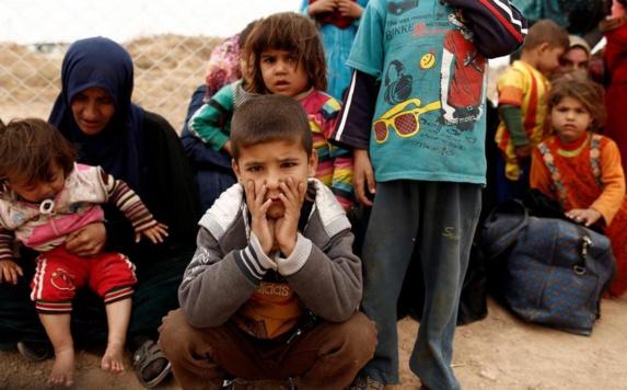 کودکان آواره وبی پناه موصل عراق