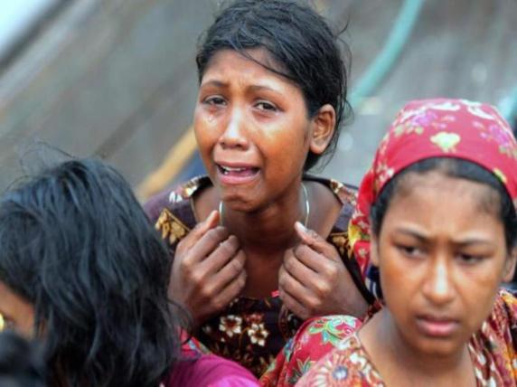 مرکز امدادی کمک های بشر دوستانه ملک سلمان به باری مسلمانان میانمارشتافت