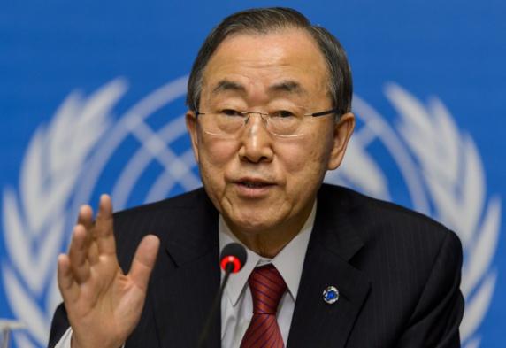 نگرانی بان کیمون ازحملات شیمیایی در سوریه