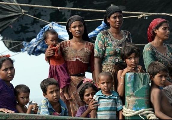 """متهم شدن دولت میانماربه پاکسازی مذهبی مسلمانان """"روهینگیا""""توسط سازمان ملل"""