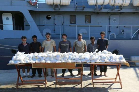 محموله بزرگ مواد مخدر ایرانی توسط نیروی دریایی مصر توقیف شد