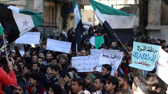 اعتراضات مردم سوریه علیه اقدامات رژیم اسد