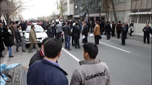 نمایش حکومتی 22 بهمن در تهران