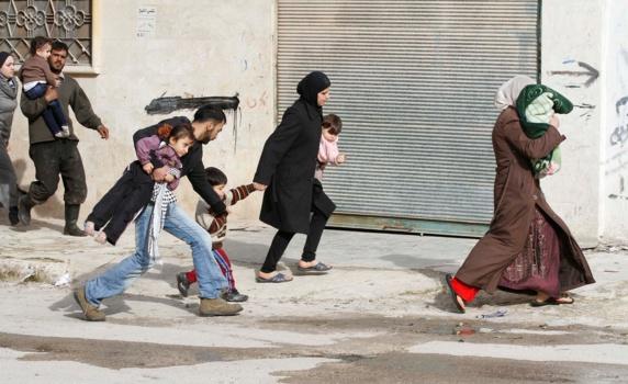 مجروح شدن بیش از 11 تن در اثر حمله توپخانهای نیروهای رژیم اسد درسوریه