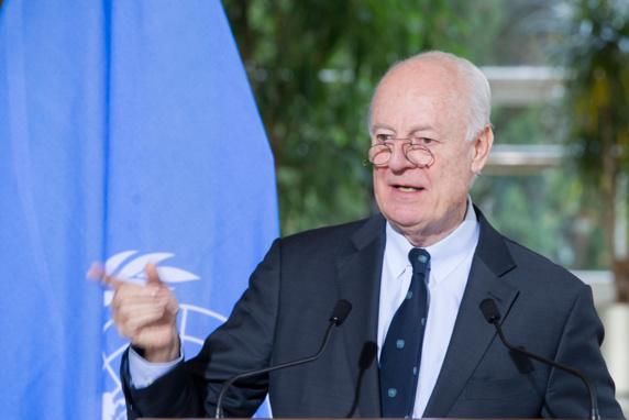 فرستاده ویژه سازمان ملل:انتخابات آزاد در سوریه با وجود نظام اسد امکان پذیر نیست