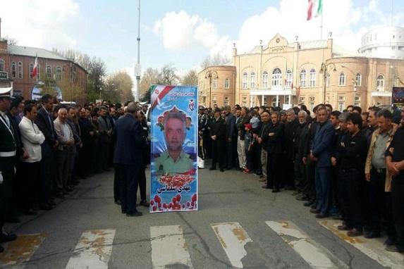 افسر نیروی انتظامی متهم به قتل کولبران کورد به ضرب گلوله کشته شد