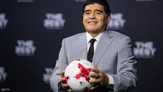 """انتخاب دیگو مارادونا به عنوان مربی تیم """"الفجیره"""" امارات"""