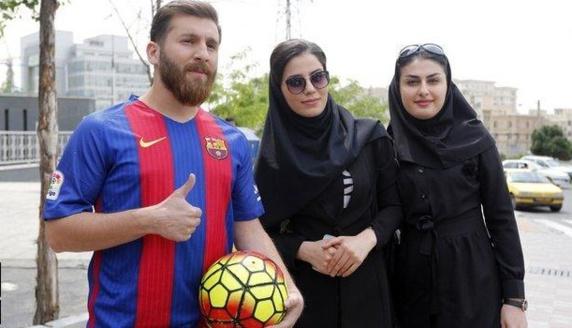 خبر بازداشت بدل لیونل مسی در ایران