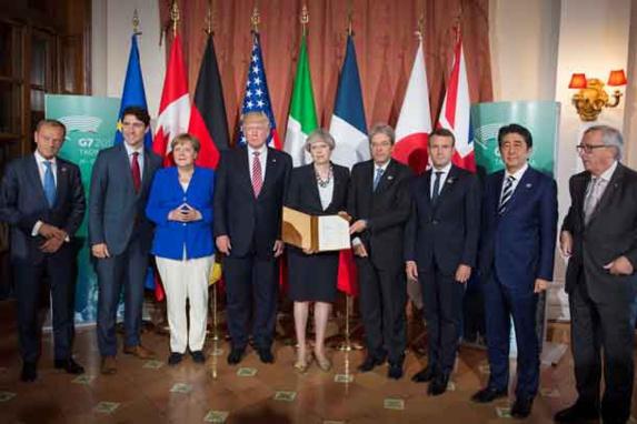 بیانیه پایانی اجلاس جی هفت: باید به بحران سوریه مطابق قطعنامه شورای امنیت پایان داد
