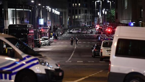 انفجار تروریستی در ایستگاه مرکزی قطار بروکسل پایتخت بلژیک