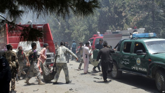 انفجار انتحاری در افغانستان 29 کشته و 60 زخمی برجای گذاشت