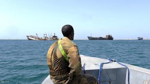 انفجاری مهیب  در عرشه یک کشتی سواحل سومالی