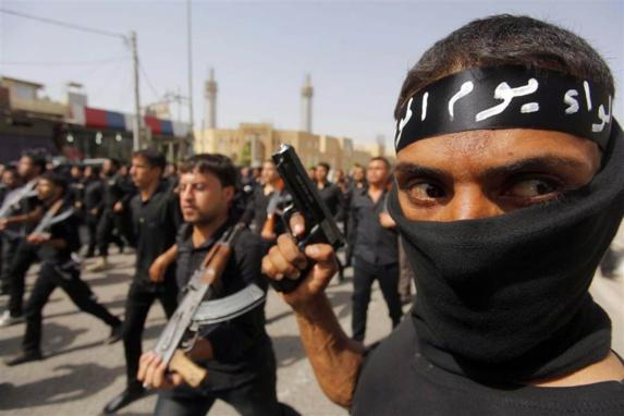 مزدوران شبه نظامی عراقی تحت امر سپاه تروریستی قدس رژیم