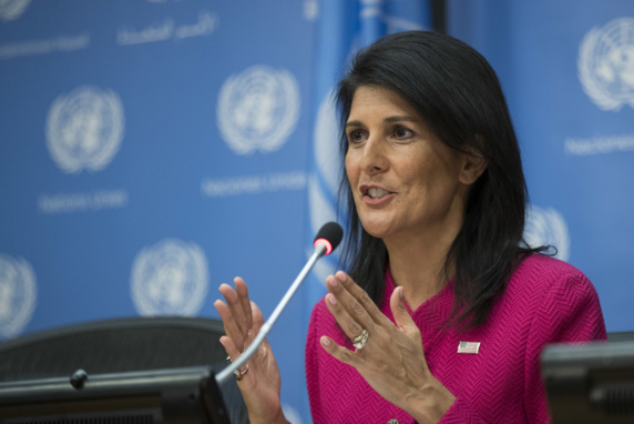 هیلی: اولویت ما توقف کمکهای مالی دوحه به گروههای تروریستی است