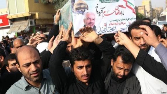اعزام پناهجویان افغان به مناطق جنگی با حقوق هشتصد دلاری توسط سپاه پاسداران ایران